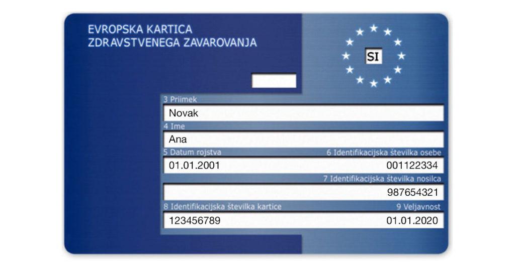 Evropska zdravstvena izkaznica