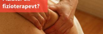 Fizioterapevt in fiziater: Kakšna je razlika?